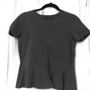 Business apparel gray top